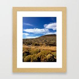 High Desert 1 Framed Art Print