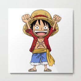 Monkey D. Luffy Metal Print