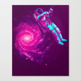 Lonely Astro Canvas Print