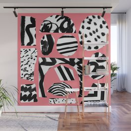 pink-flam Wall Mural