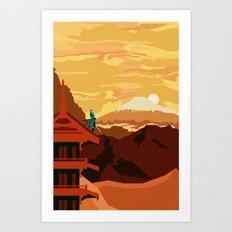 Sengoku Basara Art Print