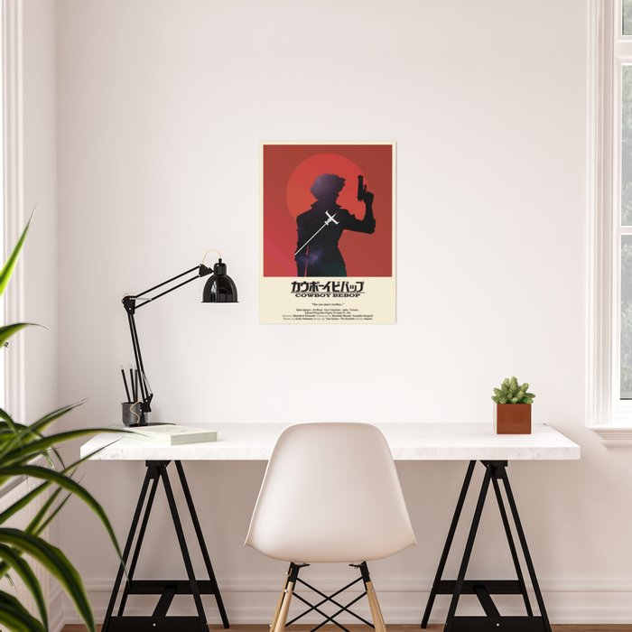 Cowboy Bebop - Space Cowboy Cropped Poster