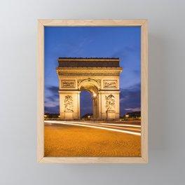 PARIS Arc de Triomphe Framed Mini Art Print