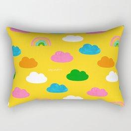 Sunshine and Rainbows Rectangular Pillow