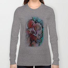 Velvet Stud Long Sleeve T-shirt