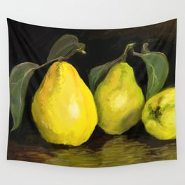 Quinces the fruit of love Wall Tapestry