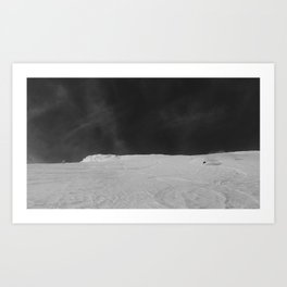 Bridger Cold smoke Art Print