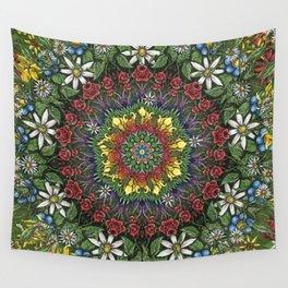 Garden Burst Wall Tapestry