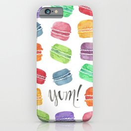 Yum! Macarons iPhone Case