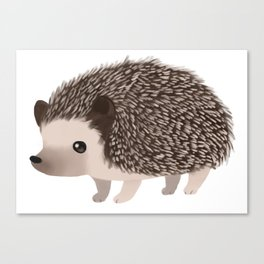 Cute Hedgehog Canvas Print