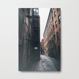 Urban grit, Manchester. Metal Print