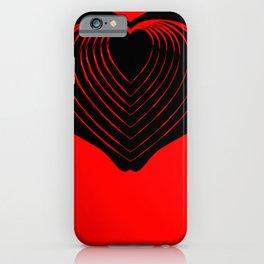 IHU - I heart you! iPhone Case