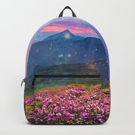 Blooming mountains Backpack