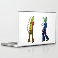 led zeppelin Laptop & iPad Skins featuring Led Zep by Pattavina
