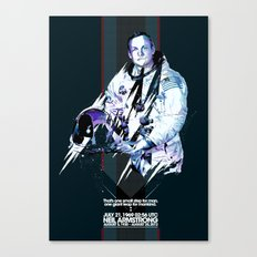 Neil Armstrong Tribute Canvas Print