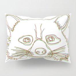 ʀᴏᴄᴋᴇᴛ ʀᴀᴄᴄᴏᴏɴ 3D Style Pillow Sham