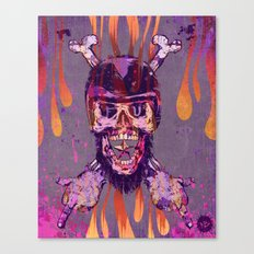 Moto Head Canvas Print