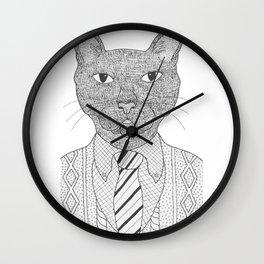 Fancy Feline Wall Clock