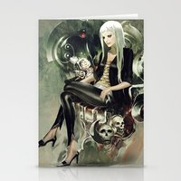 witch Stationery Cards featuring Witch by Lappisch