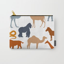 Safari Pattern Carry-All Pouch