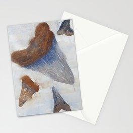 Sharks Teeth Stationery Cards
