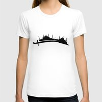 istanbul T-shirts featuring Istanbul by Emir Simsek