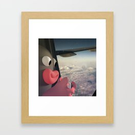 Lars&Rosa in the Planes Framed Art Print
