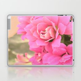 peach colored flower Laptop & iPad Skin