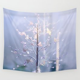 BUTTERFLIES AND BEADS Wall Tapestry
