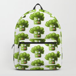 Funny Broccoli Pattern Backpack