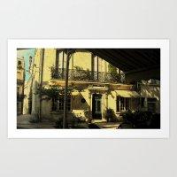 Hotel du Palais Art Print