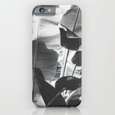 Black and White Banana Leaf iPhone 6s Slim Case