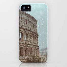 Rainy Day in Rome iPhone Case