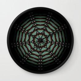 Spider Totem Meditation Mandala Wall Clock