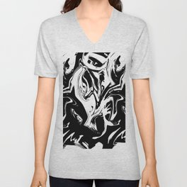 Black Phantom Unisex V-Neck