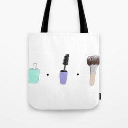 Makeup landscape Tote Bag