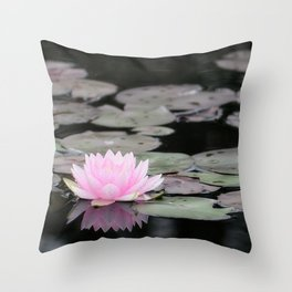 The Lily Pad Throw Pillow