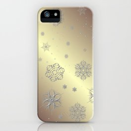 Snowflakes in the Sky iPhone Case