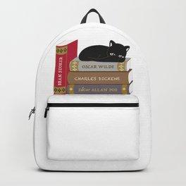 Dark literature meow Backpack