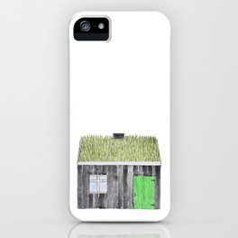 Traditional Faroese House iPhone Case