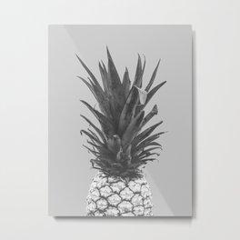 albino pineapple Metal Print
