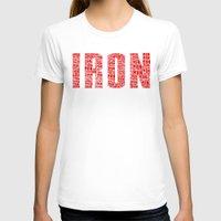 ironman T-shirts featuring IRONman  by Rachcox
