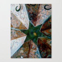 Rusty Star Canvas Print