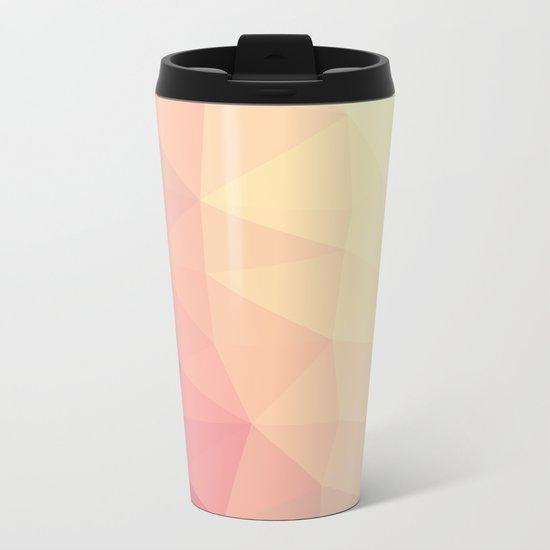 GEOMETRIC III Metal Travel Mug