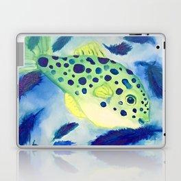 Swimming in a Sea of Feathers Laptop & iPad Skin