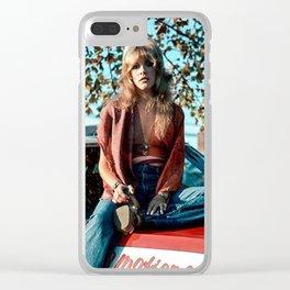 Stevie Nicks Music Clear iPhone Case