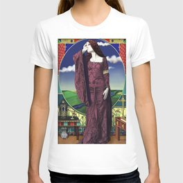 The lady of shallot by A.Harrison T-shirt