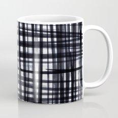 Brushed Check Coffee Mug