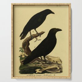 Crow And Raven Serving Tray