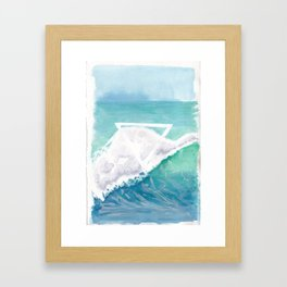 Elemental Water Framed Art Print